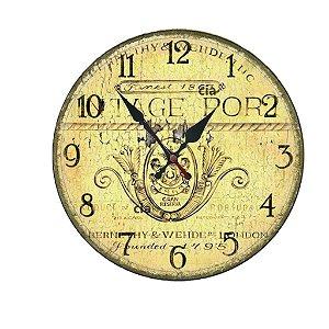 Relógio de Parede Brasão com 39 cm