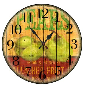 Relógio de Parede Pears com 39 cm