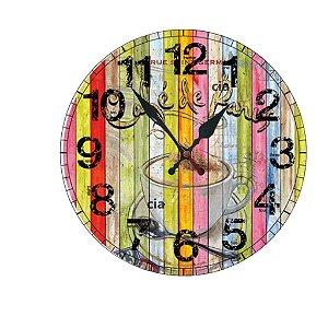 Relógio de Parede Café de Paris com 49 cm