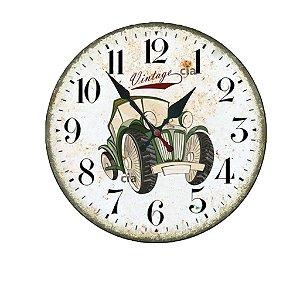 Relógio de Parede Carrp Vintage com 49 cm