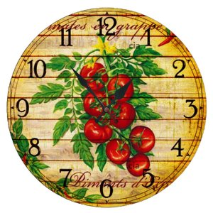Relógio de Parede Tomates com 49 cm