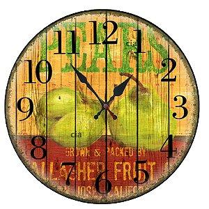 Relógio de Parede Pears com 49 cm
