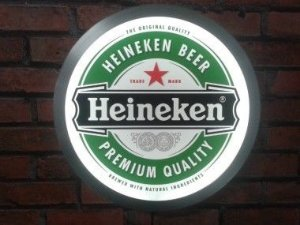 Luminaria Heineken  - 38cm