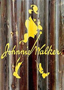 Placa MDF 28 x 20 - Johnnie Walker