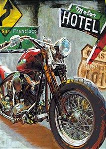 Placa MDF 28 x 20 - Motor Hotel