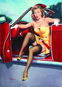 Placa MDF 28 x 20 - Pin Up