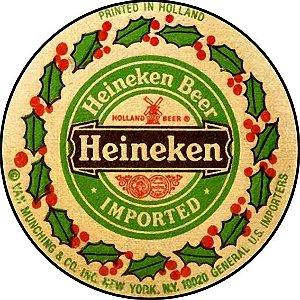 Placa MDF 20 CM - Heineken