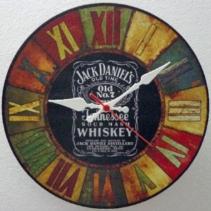 Relógio de Parede Jack Daniel´s com 28 cm
