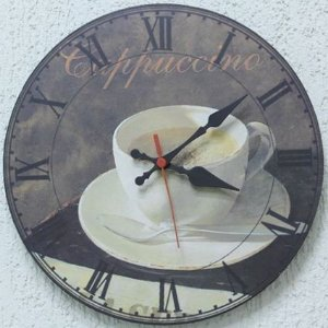 Relógio de Parede Cappuccino com 28 cm