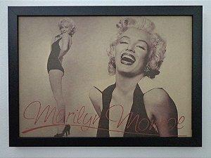 Quadro com moldura Marilyn  Monroe
