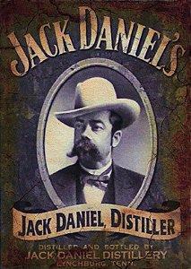 Placa MDF 28 x 20 - Jack Daniel´s