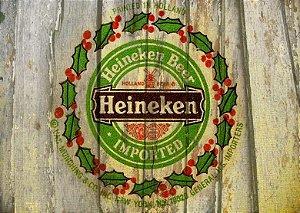 Placa MDF 28 x 20 - Heineken