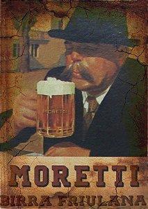 Placa MDF 28 x 20 - Moretti Birra