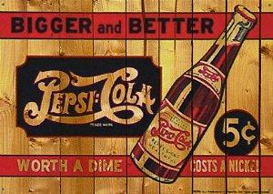 Placa MDF 28 x 20 - Pepsi Cola