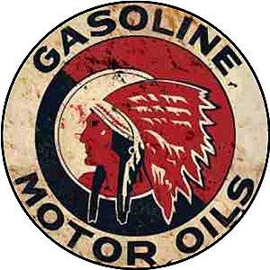 Placa MDF 20 CM - Gasoline Motor Oils