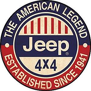 Placa MDF 20 CM - Jeep 4 x 4