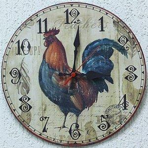 Relógio de Parede Galo com 49 cm