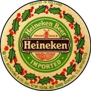 Placa MDF 30 CM - Heineken