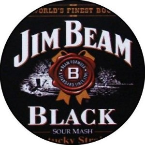 Placa MDF 30 CM - Jim Beam