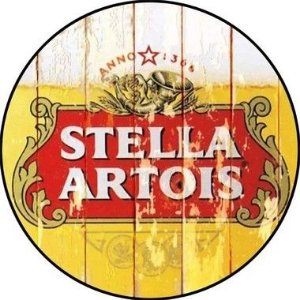 Placa MDF 30 CM - Stella Artois