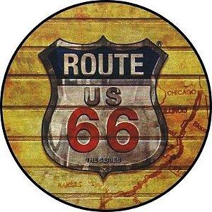 Placa MDF 30 CM - Route 66