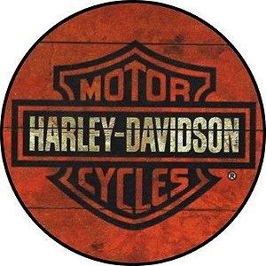 Placa MDF 30 CM - Harley Davison
