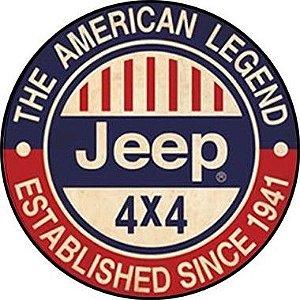 Placa MDF 30 CM - Jeep 4 x 4