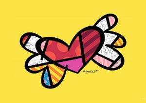 Placa MDF 28 x 20 - Coração