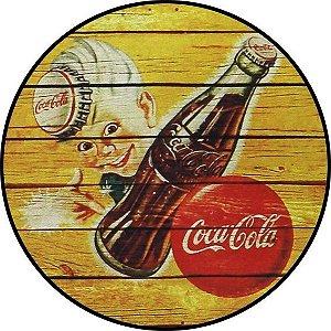 Placa MDF 20 CM - Coca Cola