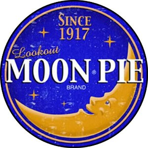 Placa MDF 20 CM - Moon Pie