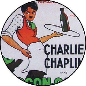 Placa MDF 20 CM - Charlei Chaplin