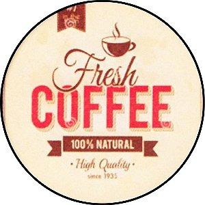 Placa MDF 20 CM - Coffe