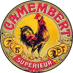 Placa MDF 20 CM - Camembert