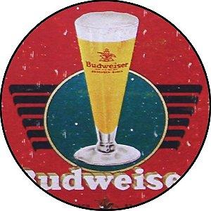 Placa MDF 20 CM - Budweiser