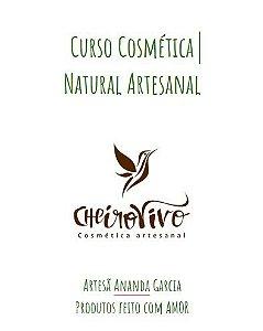 Apostila Cosmética Natural Artesanal