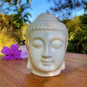 Difusor e Luminária de Aroma Budha Cerâmica 13 cm