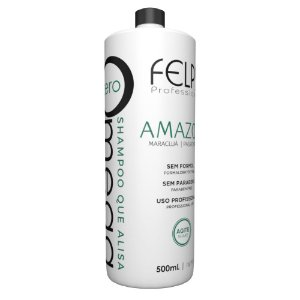 Felps Shampoo que Alisa Omega Zero Amazon 500ml Profissional