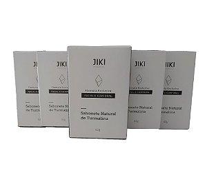 kit Sabonete Natural de Turmalina 82g Formula exclusiva - Facial e corporal kit com 5unidades de 82g