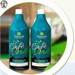Escova Progressiva De Cafe Verde Natureza Cosméticos 2×1000m