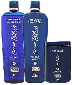 eb942a245 1ka Ocean Blue kit Escova Progressiva sem formol (2x1L)
