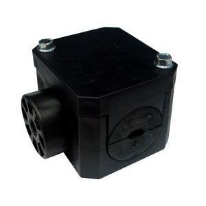 SUPORTE DIELÉTRICO P/F.OPTICA 6 A 10 MM QUADRADO (Caixa com 10 unidades)