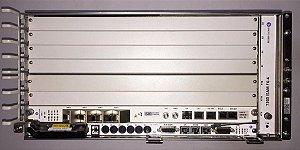 """OLT ALCATEL-LUCENT 7360 ISAM FX-4 19"""" 10G UPLINK DC"""