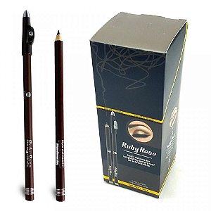 Lápis Delineador de Sobrancelhas com Apontador - HB-093 Cor 02