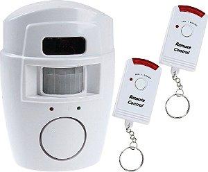 KIT sensor de alarme com 2 controles
