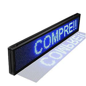 PAINEL DE LED P10 INTERNO USB 130cm*20cm