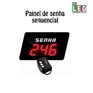 Painel Senhas Sequencial com Controle