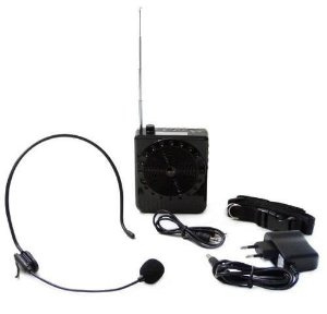 Microfone amplificado