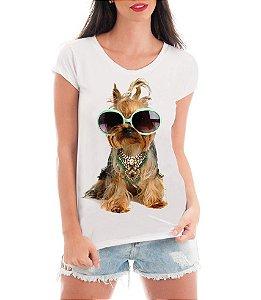 Camiseta Tshirt Feminina Rendada Pet Love Cachorros- Personalizada/ Estampadas/ Camiseteria/ Estamparia/ Estampar/ Personalizar/ Customizar/ Criar/ Camisa T-shirts Blusas Baratas Modelos Legais Loja Online