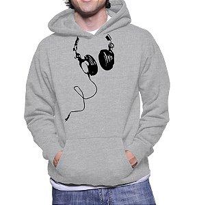 Moletom Masculino Engraçado Fones De Ouvido Criativo DJ Musico Gamer -  Moletons Personalizados Blusa/ Casacos Baratos/ Blusão/ Jaqueta Canguru