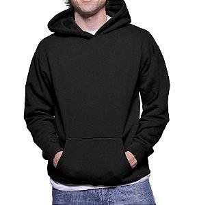 Moletom Masculino Liso Básico Preto ou Cinza- Moletons Personalizados Blusa/ Casacos Baratos/ Blusão/ Jaqueta Canguru